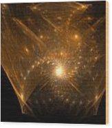 Big Bang Unfolding Wood Print