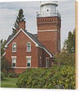 Big Bay Point Lighthouse 4 Wood Print
