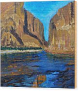 Big Bend Wood Print