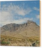 Big Bend Splendor Wood Print