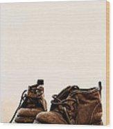 Big Boy Boots Wood Print
