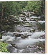 Big Creek Wood Print