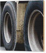 Big Fat Tires Wood Print