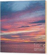 Big Florida Sunset Wood Print