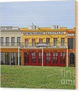 Big Four Building Sacramento California Wood Print by Christine Till