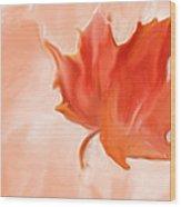 Big Leaf Maple Wood Print