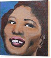 Big Mama Thornton Wood Print
