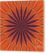 Big Orange Wood Print