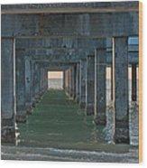Big Pier 60 Clearwater Beach Wood Print