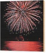 Big Red Wood Print by Bill Pevlor