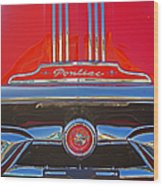 Big Red Pontiac Wood Print