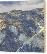 Big Rock Candy Mountains Wood Print