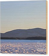 Big Squam Cold Wood Print