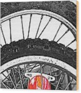 Big Wheels Keep On Turning Wood Print by Jerry Cordeiro