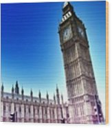 #bigben #uk #england #london2012 Wood Print