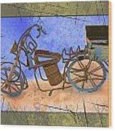 Bike 2a Wood Print