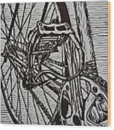 Bike 3 Wood Print by William Cauthern