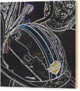 Biker Beanie Wood Print