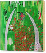 Bikira Maria - Rosa Mystica Wood Print