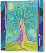 Bilabo Tree  Wood Print