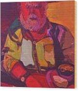 Bill No.1 - Big Red Bill Wood Print