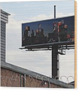 Billboard Art Project 2011 Wood Print