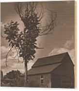 Bills' Barn Wood Print