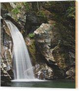 Bingham Falls Stowe Vermont Wood Print