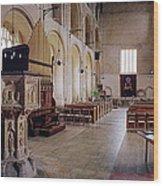 Binham Priory Wood Print