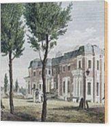 Birch: Philadelphia, 1800 Wood Print