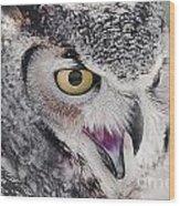 Bird 4 Wood Print
