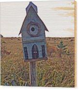 Bird Sanctuary Wood Print