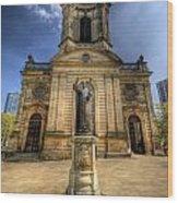 Birmingham Cathedral 2.0 Wood Print