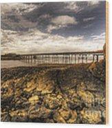Birnbeck Pier  Wood Print