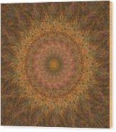 Birthing Mandala 18 Wood Print