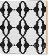Black And White No.180. Wood Print