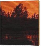 Black Bayou 10 Wood Print