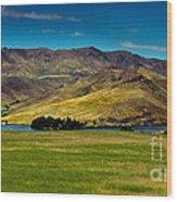 Black Canyon Reservoir Wood Print