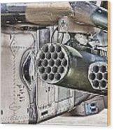 Black Hawk Firepower Wood Print