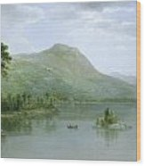 Black Mountain From The Harbor Islands - Lake George Wood Print