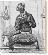 Black Preacher, 1890 Wood Print