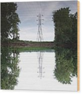 Black River Dadville Ny Wood Print