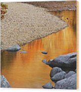 Black River Reflections At Johnsons Shut Ins State Park I Wood Print