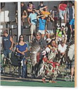 Blackfeet Pow Wow 01 Wood Print