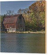Blackjack Barn Wood Print