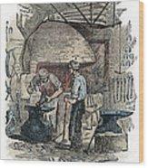 Blacksmith, C1865 Wood Print