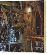 Blacksmith Workshop Wood Print