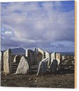 Blacksod Point, Co Mayo, Ireland Stone Wood Print