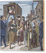 Blackwells Island, 1868 Wood Print