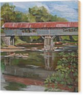 Blair Bridge Campton New Hampshire Wood Print